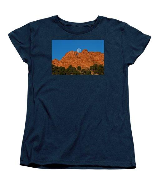 Women's T-Shirt (Standard Cut) featuring the photograph Balancing Act by Ronda Kimbrow