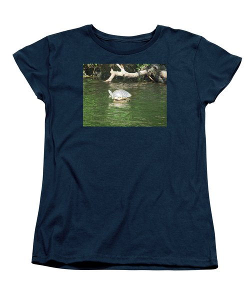 Balancing Act Women's T-Shirt (Standard Cut) by Fortunate Findings Shirley Dickerson