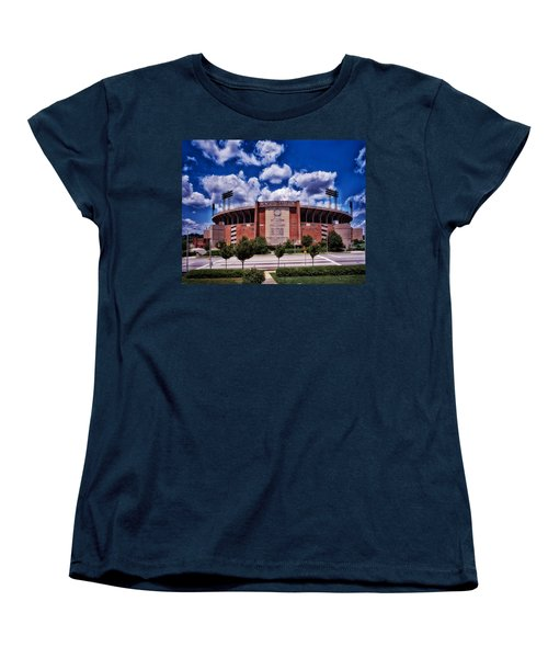 Baltimore Memorial Stadium 1960s Women's T-Shirt (Standard Cut) by Mountain Dreams