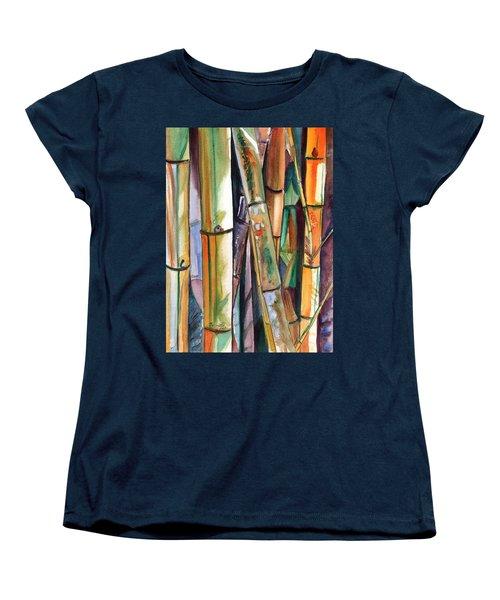 Bamboo Garden Women's T-Shirt (Standard Cut)