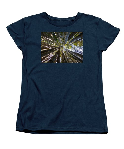 Bamboo Jungle Women's T-Shirt (Standard Cut) by Gandz Photography