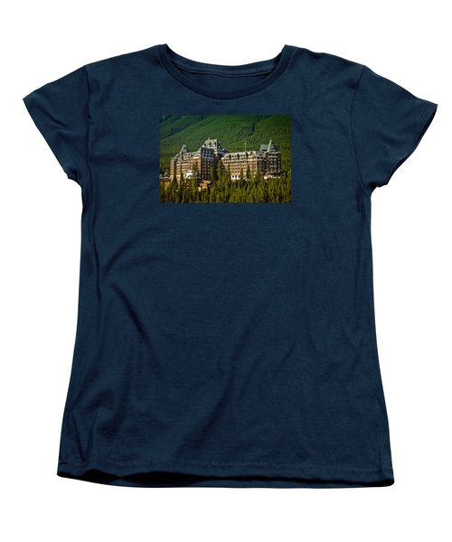 Banff Springs Hotel Women's T-Shirt (Standard Cut) by Richard Farrington