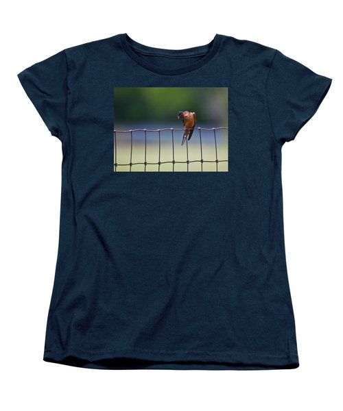 Barn Swallow Women's T-Shirt (Standard Cut) by Mark Alder