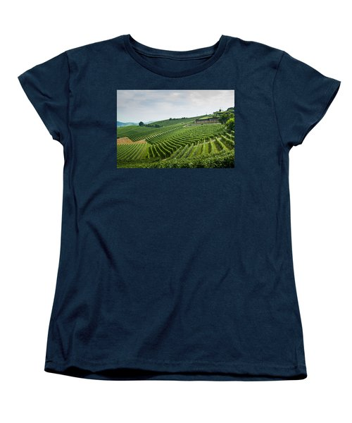 Barolo Women's T-Shirt (Standard Cut) by Alex Lapidus