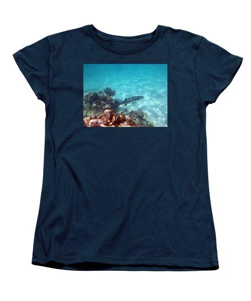 Women's T-Shirt (Standard Cut) featuring the photograph Barracuda by Eti Reid