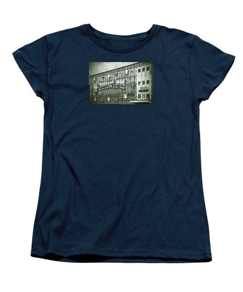 Barrowland Glasgow Women's T-Shirt (Standard Cut) by Liz Leyden
