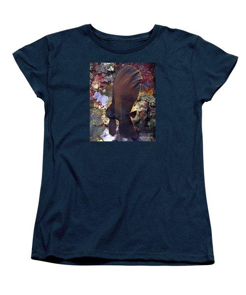 Bat Fish Women's T-Shirt (Standard Cut) by Sergey Lukashin