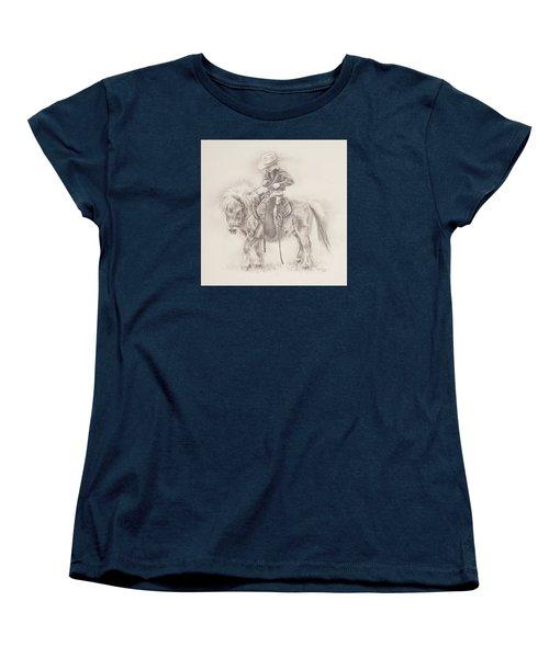 Battle Of Wills Women's T-Shirt (Standard Cut) by Kim Lockman