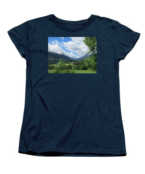 Bavarian Countryside Women's T-Shirt (Standard Cut) by Pema Hou