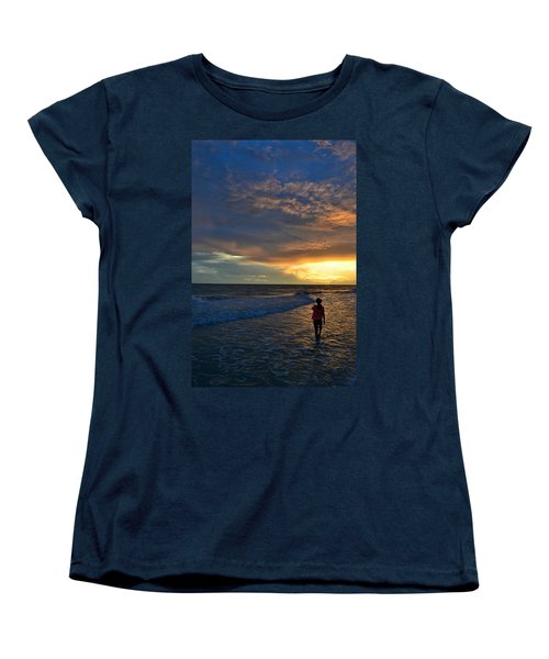 Women's T-Shirt (Standard Cut) featuring the photograph Be Wonderful... Because You Are by Melanie Moraga