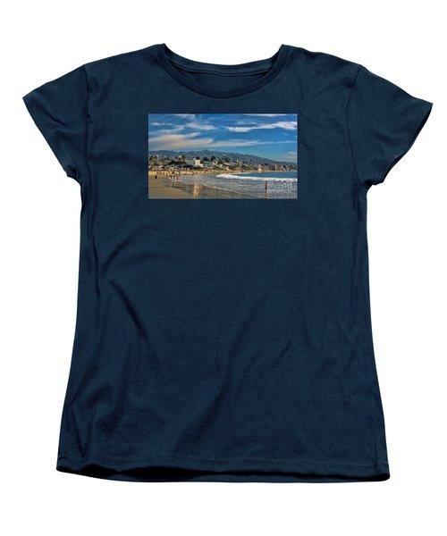 Beach Fun Women's T-Shirt (Standard Cut) by Tammy Espino