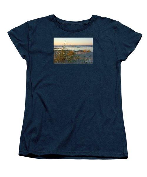 Beach Morning Women's T-Shirt (Standard Cut) by Kevin McCarthy