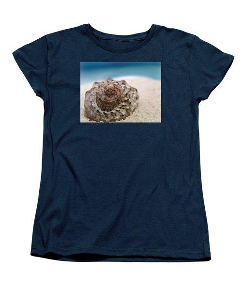 Women's T-Shirt (Standard Cut) featuring the photograph Beach Treasure by Micki Findlay