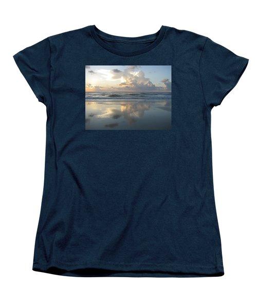 Beautiful Beach Sunrise Women's T-Shirt (Standard Cut)