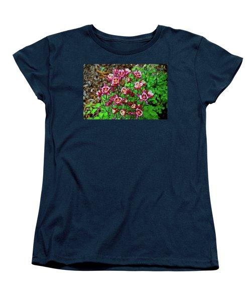 Beautiful Columbine   Women's T-Shirt (Standard Cut) by Ed  Riche