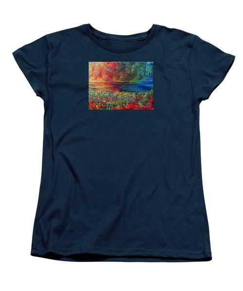 Beautiful Day Women's T-Shirt (Standard Cut) by Teresa Wegrzyn