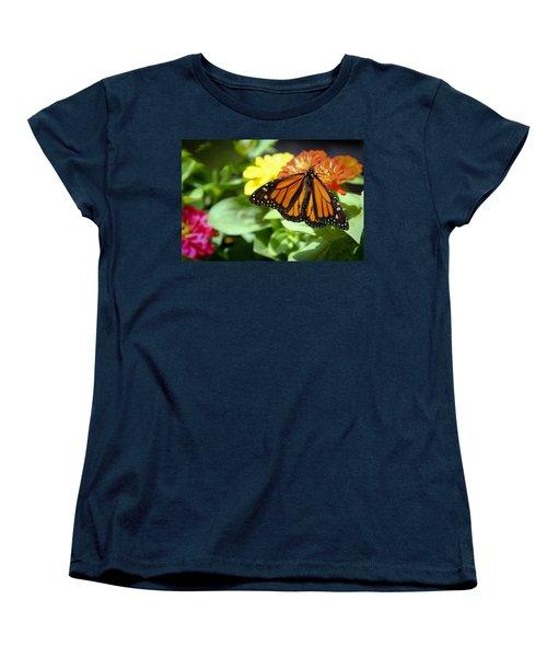 Beautiful Monarch Butterfly Women's T-Shirt (Standard Cut) by Patrice Zinck