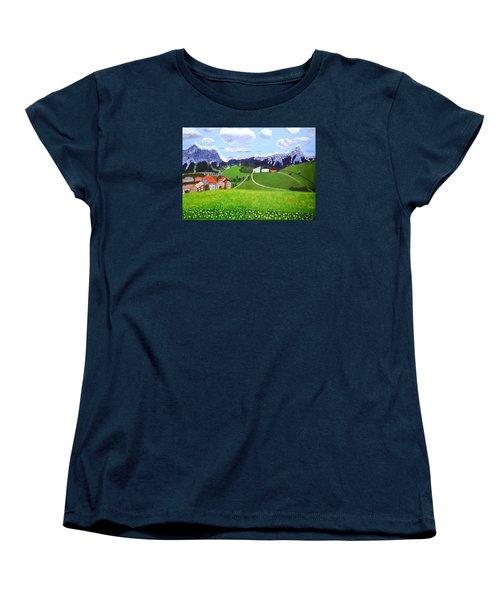Beautiful Norway Women's T-Shirt (Standard Cut) by Magdalena Frohnsdorff