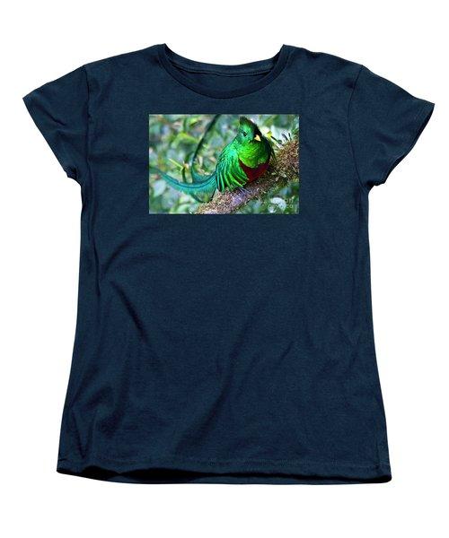 Beautiful Quetzal 4 Women's T-Shirt (Standard Cut) by Heiko Koehrer-Wagner