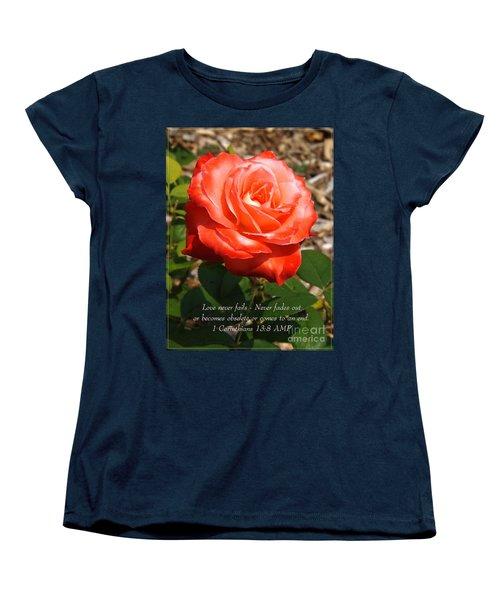 Beauty At Its Best Women's T-Shirt (Standard Cut) by Sara  Raber