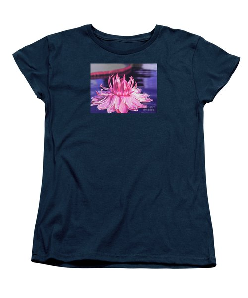Beauty Of Pink At The Ny Botanical Gardens Women's T-Shirt (Standard Cut) by Chrisann Ellis