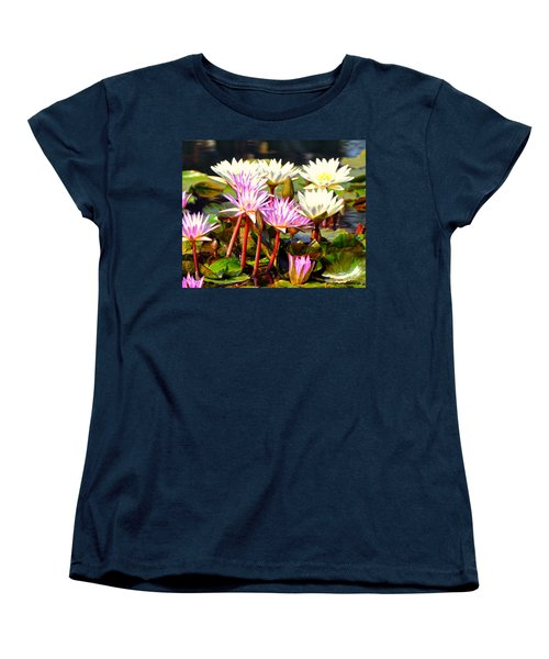 Women's T-Shirt (Standard Cut) featuring the photograph Beauty On The Water by Marty Koch