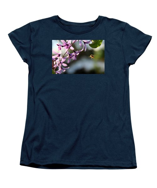 Women's T-Shirt (Standard Cut) featuring the photograph Bee Back by Greg Allore