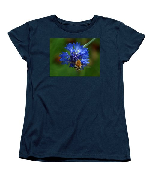 Women's T-Shirt (Standard Cut) featuring the photograph Bee by Leticia Latocki