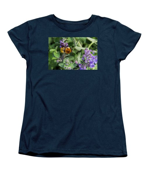 Women's T-Shirt (Standard Cut) featuring the photograph Bee Too by David Gleeson