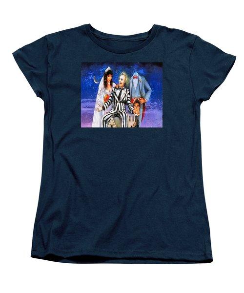 Beetlejuice Women's T-Shirt (Standard Cut) by Joe Misrasi