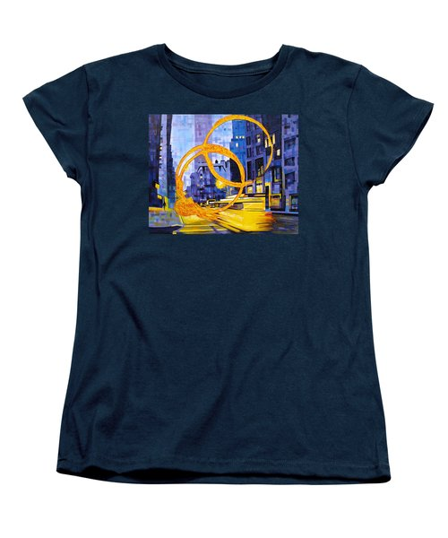 Before These Crowded Streets Women's T-Shirt (Standard Cut) by Joshua Morton