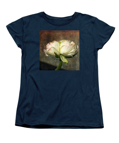 Begonia With A Tint Of Pink Women's T-Shirt (Standard Cut) by Denyse Duhaime