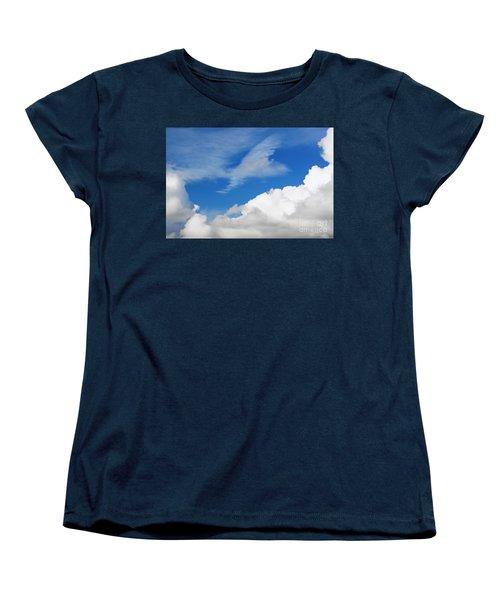Behind The Clouds Women's T-Shirt (Standard Cut)