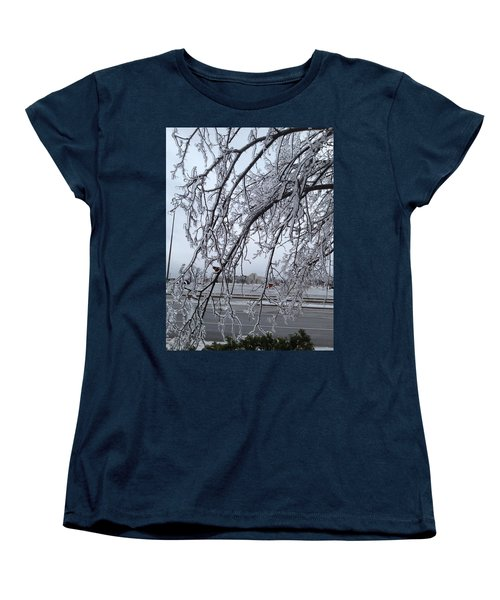 Bejewelled Branches Women's T-Shirt (Standard Cut) by Pema Hou