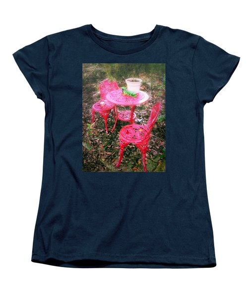 Believe Women's T-Shirt (Standard Cut) by Carlos Avila