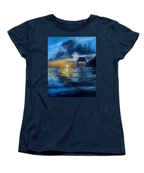 Belizean Sunrise Women's T-Shirt (Standard Cut)