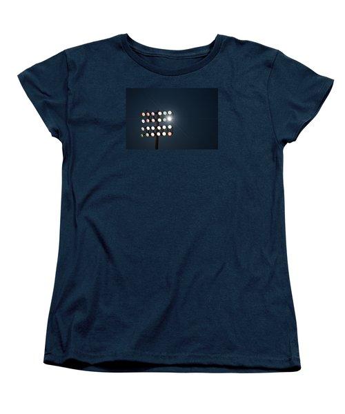 Beneath Friday Night Lights Women's T-Shirt (Standard Cut) by Trish Mistric