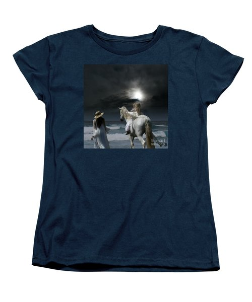 Beneath The Illusion In Colour Women's T-Shirt (Standard Cut) by Sharon Mau