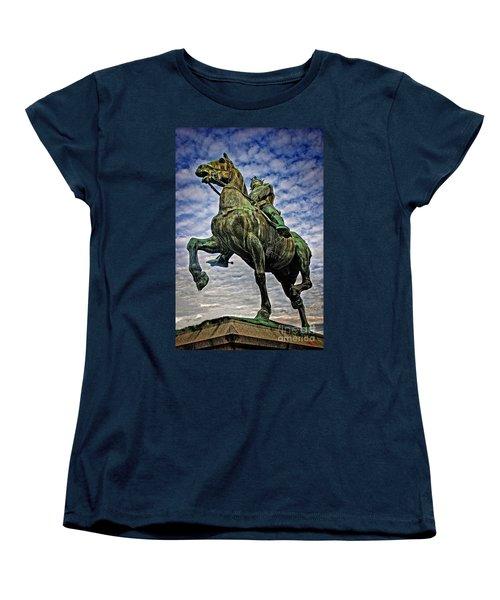 Bertrand Du Guesclin Women's T-Shirt (Standard Cut) by Elf Evans