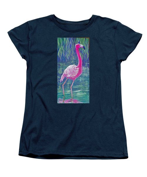 Beta's Flamingo Women's T-Shirt (Standard Cut)