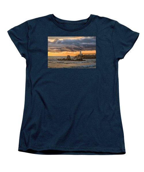 Between Storms Women's T-Shirt (Standard Cut) by Linda Villers