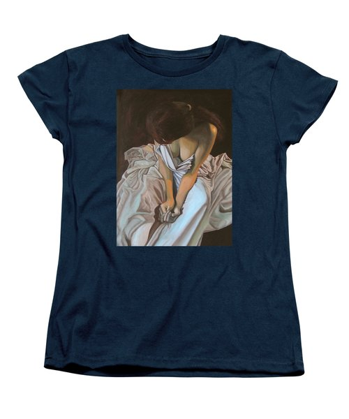 Between The Sheets Women's T-Shirt (Standard Cut) by Thu Nguyen