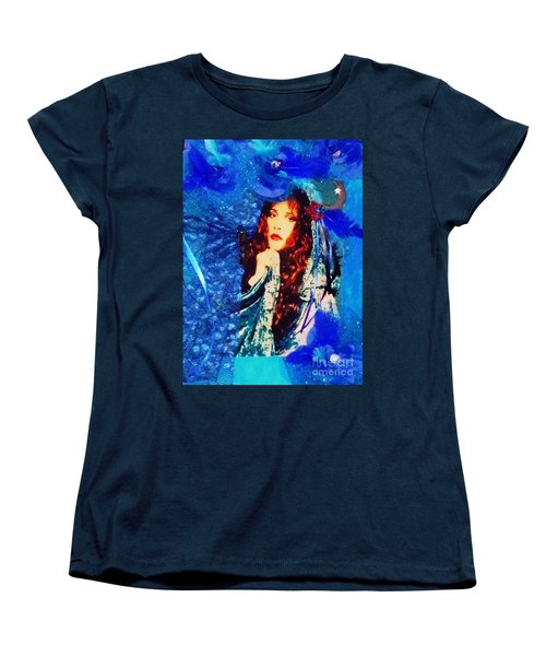 Bewitched In Blue Women's T-Shirt (Standard Cut) by Alys Caviness-Gober