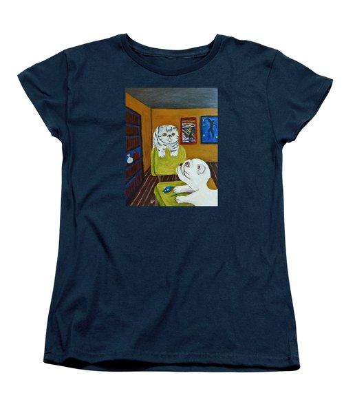 Bffs Women's T-Shirt (Standard Cut) by Victoria Lakes