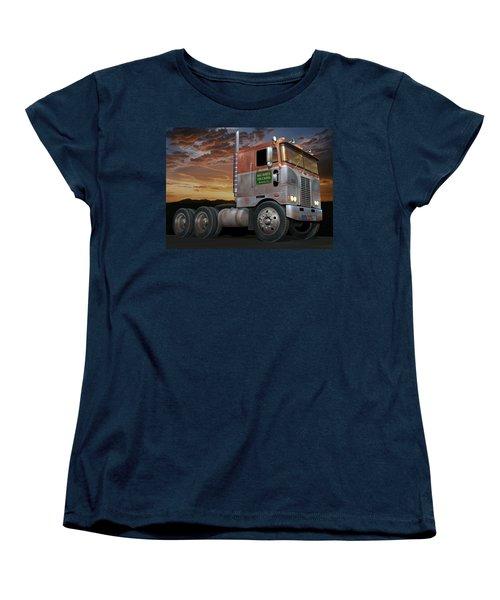 Big Bob's Cabover Women's T-Shirt (Standard Cut) by Stuart Swartz