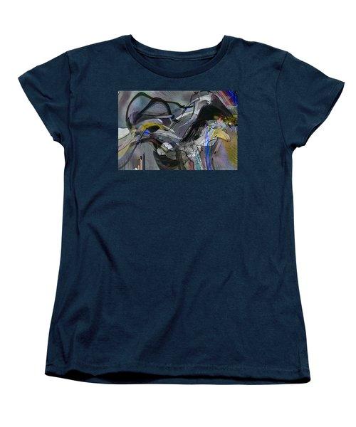 Women's T-Shirt (Standard Cut) featuring the digital art Bird That Wept With Me by Richard Thomas
