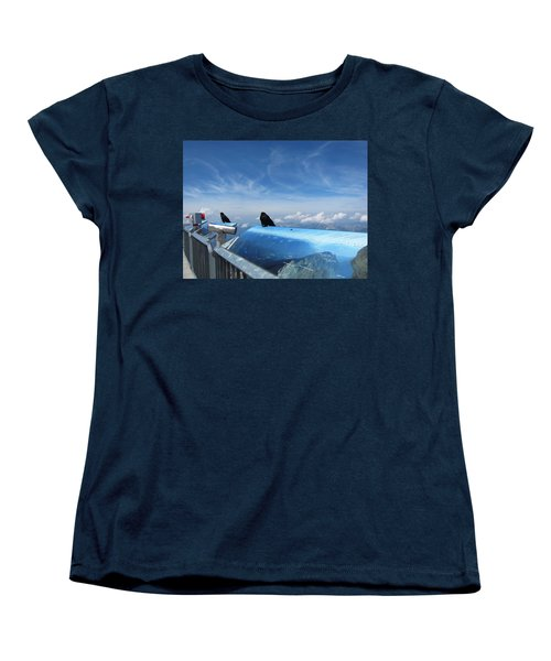 Women's T-Shirt (Standard Cut) featuring the photograph Bird Watch by Pema Hou