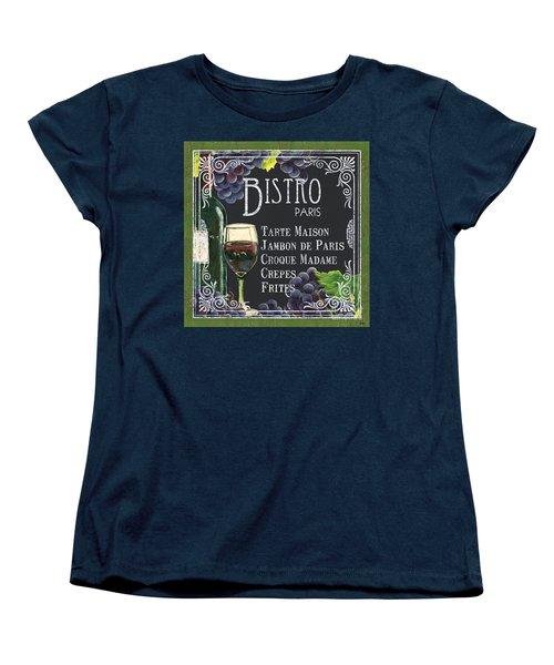 Bistro Paris Women's T-Shirt (Standard Cut)