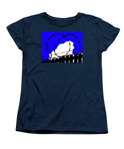 Black Barb Women's T-Shirt (Standard Cut) by John King