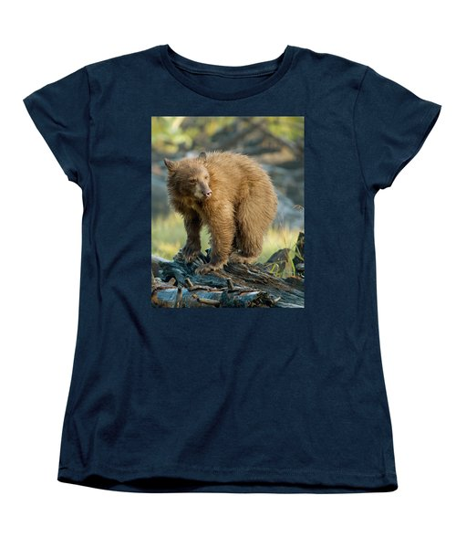 Black Bear Women's T-Shirt (Standard Cut)